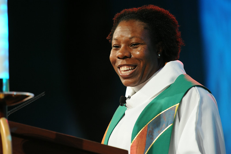 Ninth Triennial Gathering | The Rev. Linda Norman delivered her sermon at closing worship