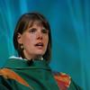 Ninth Triennial Gathering   The Rev. Callista Isabelle leads closing worship