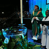 Ninth Triennial Gathering    The Rev. Callista Isabelle (left) presided and The Rev. Veronica Angela Sathuri from Andhra Evangelical Lutheran Church, assisted in closing worship