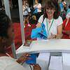 Ninth Triennial Gathering | Lisa Norman, Rochester, MN, Hosanna Lutheran registers to the Run, Walk and Roll