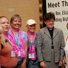 Triennial participants from Virginia greet Bishop Eaton at the 2014 Women of the ELCA Triennial Gathering. EH.