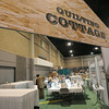 Ninth Triennial Gathering | The quilting cottage in the exhibit hall.