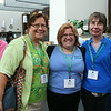 Triennial Gathering |  Maria Bouche  (Middle), Green Bay, WI, brought her mother, Karen Sorrell (Left) Lexington, KY, and her Mother-In-Law, Joyce Bouche, Green Bay, WI, with her to the gathering.