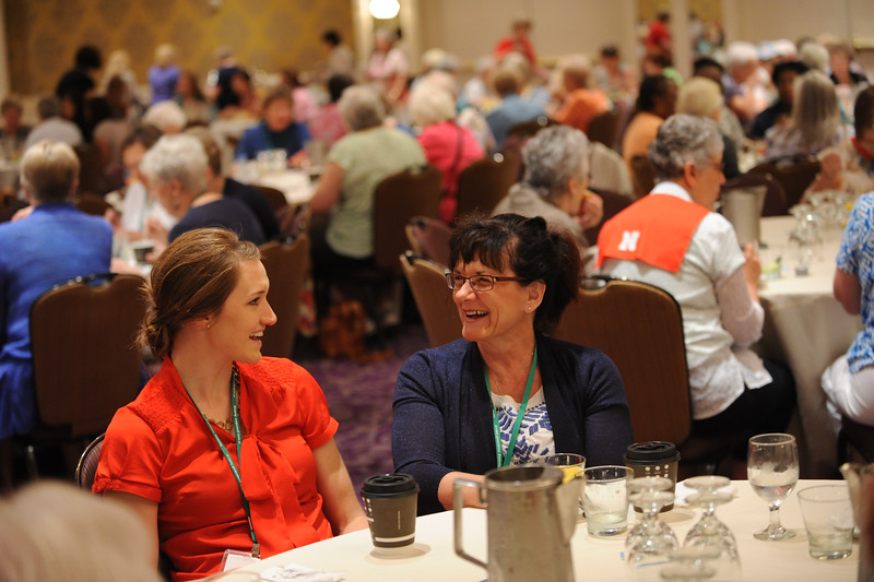 Ninth Triennial Gathering | Jennifer Lukons, Wishek, ND and Karen Bettenhauser, Wishek ND, St. Luke Lutheran