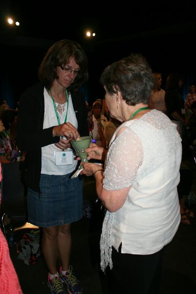 Ninth Triennial Gathering | Holy communion during opening worship