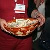 Ninth Triennial Gathering | Offering basket collected during worship