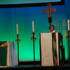 Claire Schenot Burkat preached at Thursday evening's opening worship. Burkat is bishop of the Southeastern Pennsylvania Synod of the ELCA. EH.