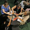 Ninth Triennial Gathering | Thrivent Financial busy booth in the exhibit hall