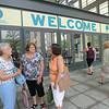 Ninth Triennial Gathering | Welcome! Karen Herrmann (left), Plainfield, IL, Theodore Street Lutheran; Karen Stapelton, Shorewood, IL and Linda Miller, Rockford, IL, Our Saviour's Lutheran