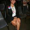 Ninth Triennial Gathering | Freddie Jordan, Columbus, OH settles into her seat before opening worship