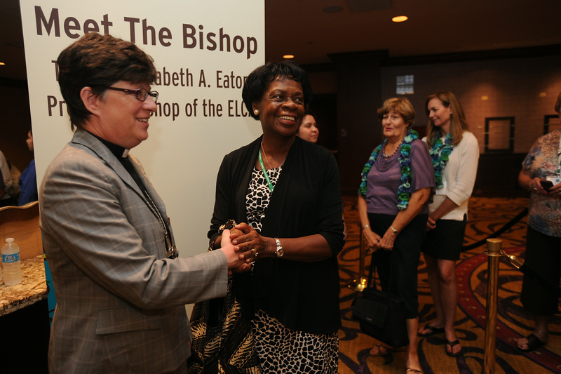 Ninth Triennial Gathering | Bishop Eaton and Marcia Goerss, Atlanta, Ga, Emmanuel Lutheran