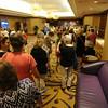 Ninth Triennial Gathering | Women in line to meet Bishop Eaton