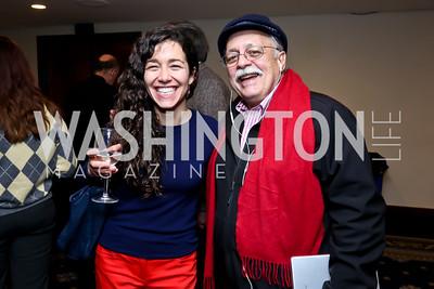 Margarita Jimenez, Jose Pertierra. Photo by Tony Powell. A Celebration of the US-Cuba Policy Changes. NPC. February 24, 2015