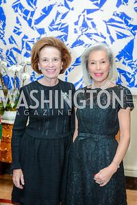 Ellen Boer, Nina Pillsbury, Alliance Francaise, Benefit Evening, April 9, 2015, photo by Ben Droz