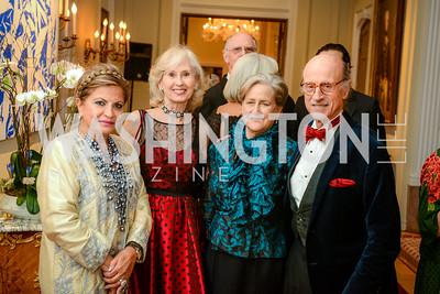 Annie Totah, Willee Lewis, Faith Lewis, Finlay Lewis, Alliance Francaise, Benefit Evening, April 9, 2015, photo by Ben Droz,