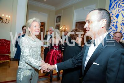 Joan Carl, Ambassador Gérard Araud, Alliance Francaise, Benefit Evening, April 9, 2015, photo by Ben Droz,