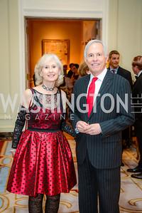 Willee Lewis, Congressman Bart Gordon, Alliance Francaise, Benefit Evening, April 9, 2015, photo by Ben Droz,