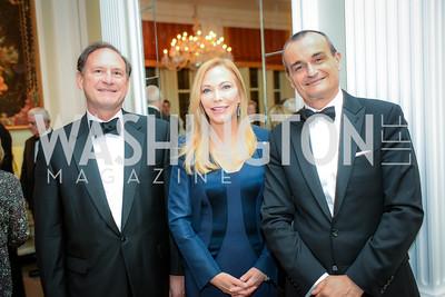 Justice Samuel Alito, Susan Carmel Lehrman,Ambassador Gérard Araud, Alliance Francaise, Benefit Evening, April 9, 2015, photo by Ben Droz,