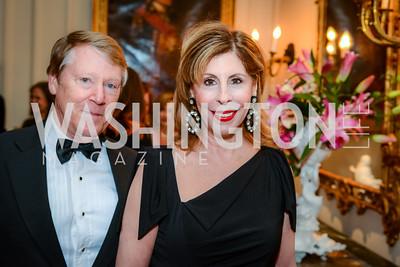 Michael Miller, Marjorie Miller, Alliance Francaise, Benefit Evening, April 9, 2015, photo by Ben Droz,