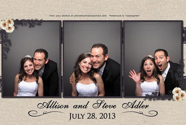 Allison and Steven Adler Wedding