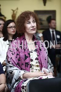Bulgaria Amb. Elena Poptodorova. Photo by Tony Powell. An Afternoon Tea. Coopersmith Residence. June 25, 2015