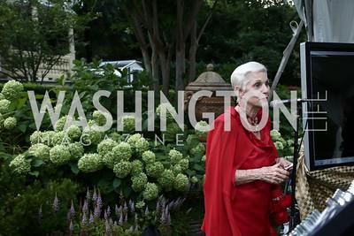 Jan Du Plain. Photo by Tony Powell. An Evening with Sharon Stone. Mafi Residence. July 25, 2015
