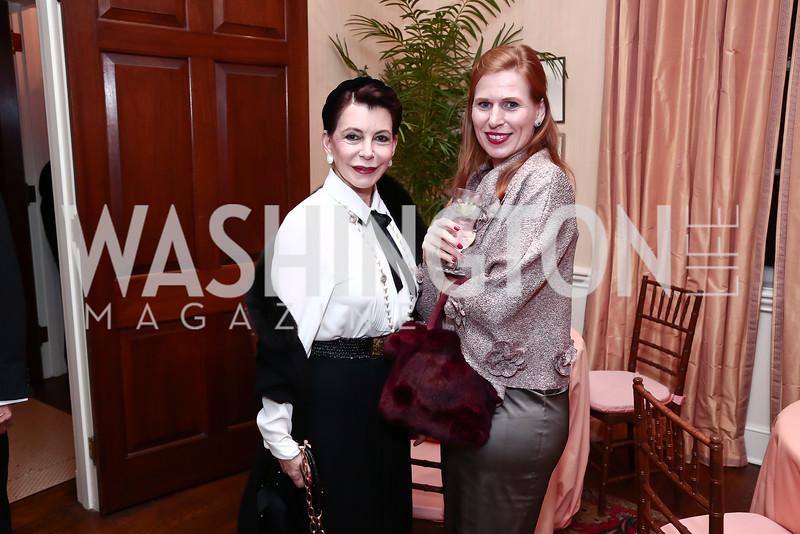 JoAnn Mason, Huberta Wittig. Photo by Tony Powell. Reception for Jane Chu. November 19, 2015