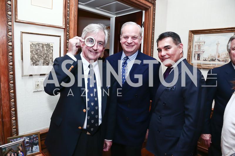 Robert Higdon and David Deckelbaum, Javier Equihua. Photo by Tony Powell. Reception for Jane Chu. November 19, 2015