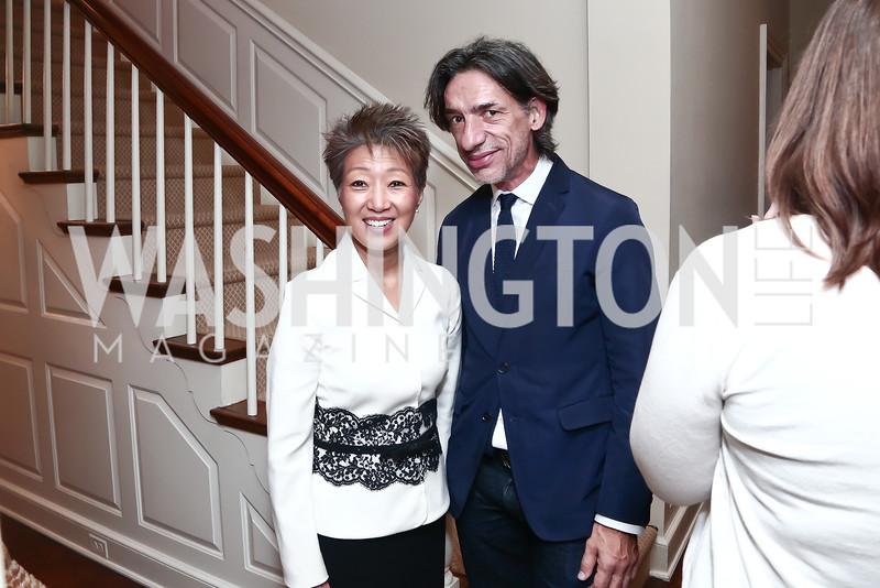 Jane Chu, Septime Webre. Photo by Tony Powell. Reception for Jane Chu. November 19, 2015