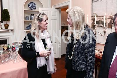 Isabel Ernst, Jane Cafritz. Photo by Tony Powell. Reception for Jane Chu. November 19, 2015