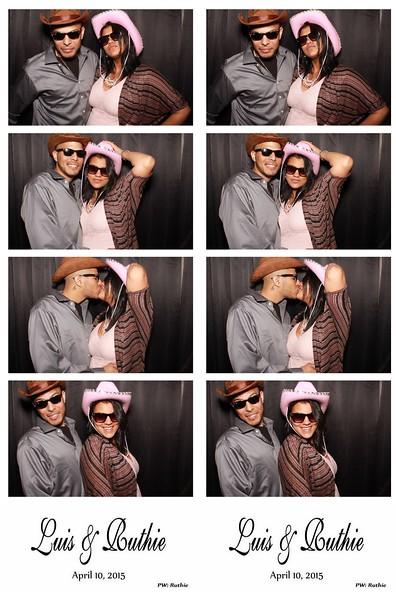 Luis & Ruthie April 10, 2015