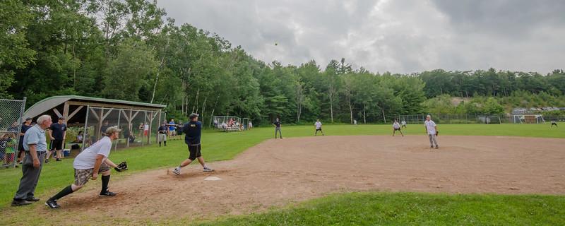 View of the Royalston Ashburnham town softball game at Oakmont. SENTINEL&ENTERPRISE/ Jim Marabello