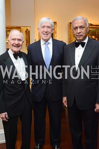 Brent Scowcroft, Bob Hormats, Shaukat Aziz