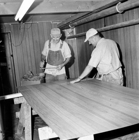 Two gentlemen work on remodeling at the Effingham County Courthouse in July 1971. Do you recognize the men? If so, share the information under the photo at the Effingham Daily New Facebook page.