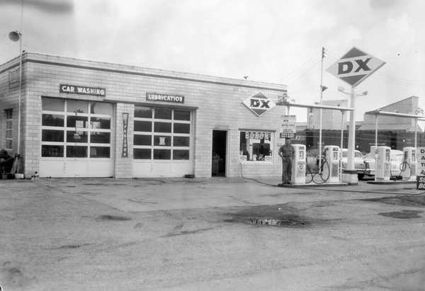 "Someone is standing next to the pump in the photo from 1962. The negative was marked, ""North End DX station."" Do you recognize the man? Do you remember the station? If so share the information online at the Effingham Daily News Facebook page."
