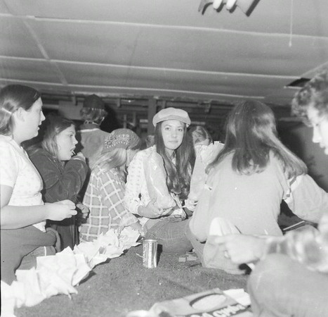 Students work on a float for an Effingham High School Homecoming parade, probably in the 1970s. Do you recognize any of the students? If so, share the information under the photo online at the Effingham Daily News Facebook page.