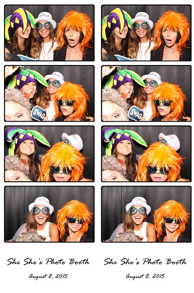 She She Photo Booth August 8, 2015