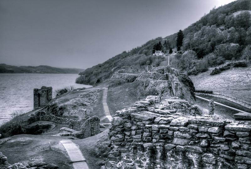 On the Loch in Scotland