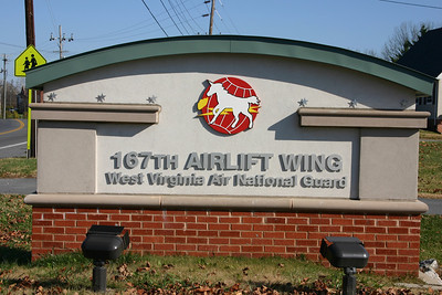 The 167th Airlift Wing of the West Virginia Air National Guard - Berkeley County Station 16.