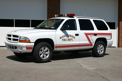Chief 1's 2003 Dodge Durango.