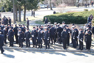 Boston Ma. Fire Dept FF Michael Kennedy Funeral-West Roxbury Ma. 04/03/2014