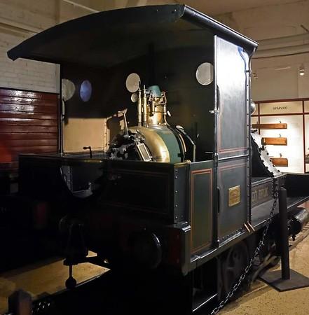 Elfkarleo Bruk 0-4-0WT No 1, Swedish Railway Museum, Gavle, 25 July 2015 3.  Elfkarleo Bruk is near Gavle.