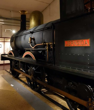 Swedish State Railways 0-6-0 No 93 Jernsida (= Ironside), Swedish Railway Museum, Gavle, 25 July 2015 2.