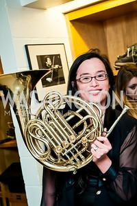 Rachel See. Photo by Tony Powell. CUA 50th Anniversary Gala Concert. Kennedy Center. April 12, 2015