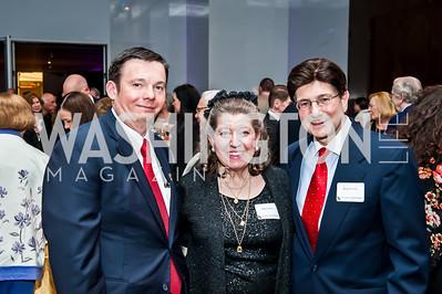 Grayson Wagstaff, Nancy Fazio and Dr. Richard Fazio. Photo by Tony Powell. CUA 50th Anniversary Gala Concert. Kennedy Center. April 12, 2015