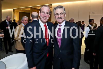 Michael Mael, Murray Horwitz. Photo by Tony Powell. Ina Ginsburg Celebration. Kennedy Center. February 9, 2015