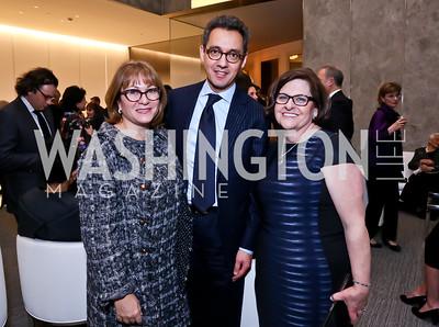 Cidalia and Masud Akbar, Berta Brenha. Photo by Tony Powell. Ina Ginsburg Celebration. Kennedy Center. February 9, 2015