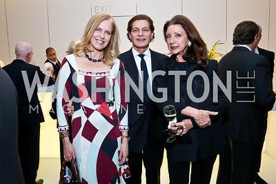 Susan Bennett, Edgar Batista, Aniko Gaal Schott. Photo by Tony Powell. Ina Ginsburg Celebration. Kennedy Center. February 9, 2015