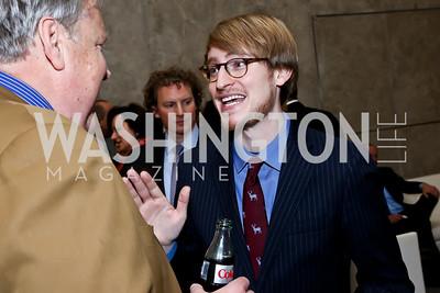 R. David Edelman. Photo by Tony Powell. Ina Ginsburg Celebration. Kennedy Center. February 9, 2015