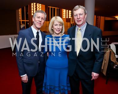 Mark, Susan and Jonathan Ginsburg. Photo by Tony Powell. Ina Ginsburg Celebration. Kennedy Center. February 9, 2015